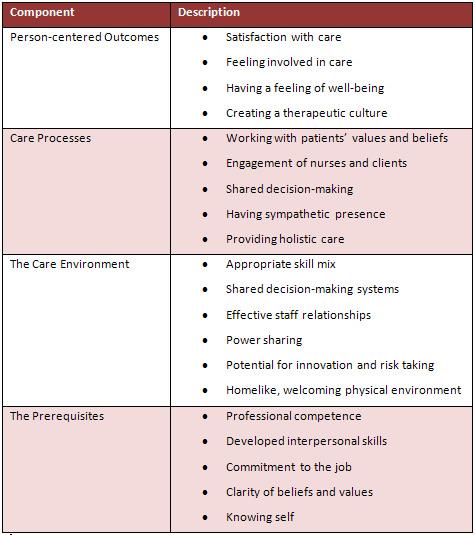 nursing beliefs skills